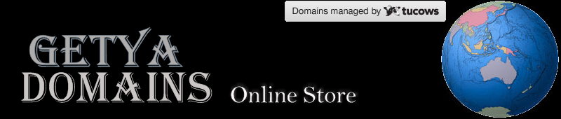 Getya Domains Online Store